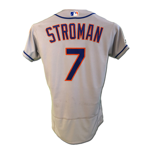 Photo of Marcus Stroman #7 - Team Issued Road Grey Jersey - 2019 Season