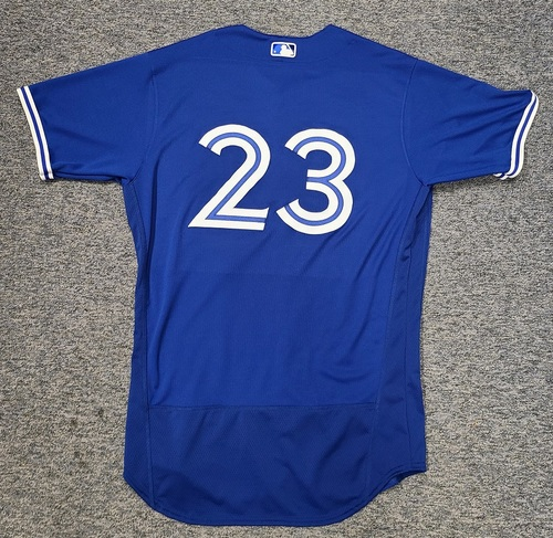 Photo of Authenticated Team Issued Spring Training Jersey: #23 Derek Fisher (2021 Season). Size 46.