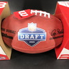NFL - Bills Gregory Rousseau Signed Authntic Football with NFL Draft Logo