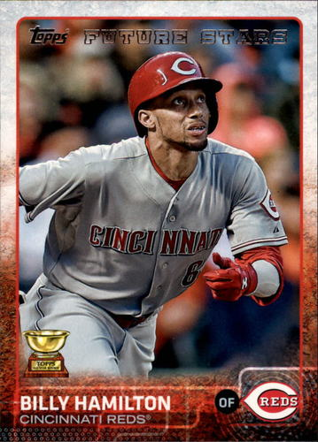 Photo of 2015 Topps #333 Billy Hamilton FS