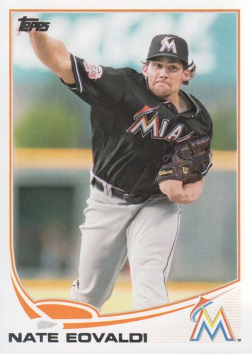 Photo of 2013 Topps #563 Nate Eovaldi