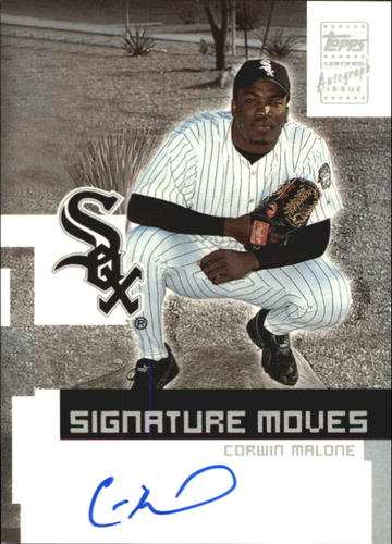 Photo of 2002 Topps Traded Signature Moves #CW Corwin Malone H
