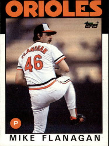 Photo of 1986 Topps #365 Mike Flanagan