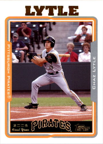 Photo of 2005 Topps #318 Chaz Lytle FY RC