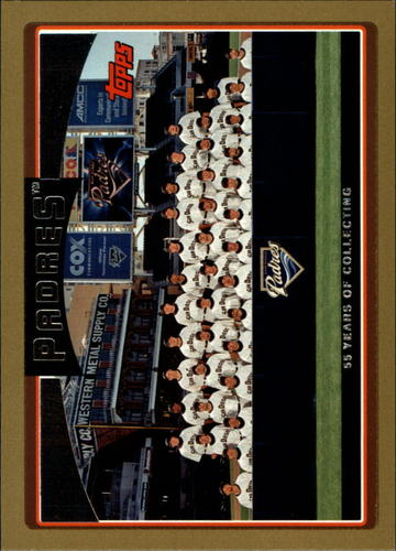 Photo of 2006 Topps Gold #614 San Diego Padres