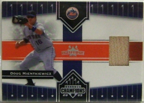 Photo of 2005 Donruss Champions Impressions Material #55 D.Mientkiewicz Mets Bat T5