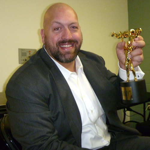 Big Show SIGNED WWE Replica Slammy Award
