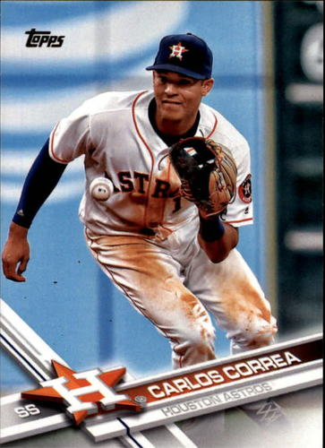 Photo of 2017 Topps #75A Carlos Correa
