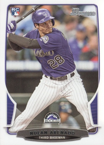 Photo of 2013 Bowman Draft #41 Nolan Arenado Rookie Card