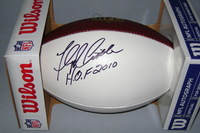 HOF - BRONCOS FLOYD LITTLE SIGNED PANEL BALL