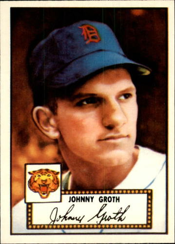 Photo of 1983 Topps 1952 Reprint #25 Johnny Groth