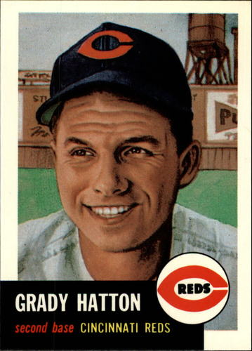 Photo of 1991 Topps Archives 1953 #45 Grady Hatton