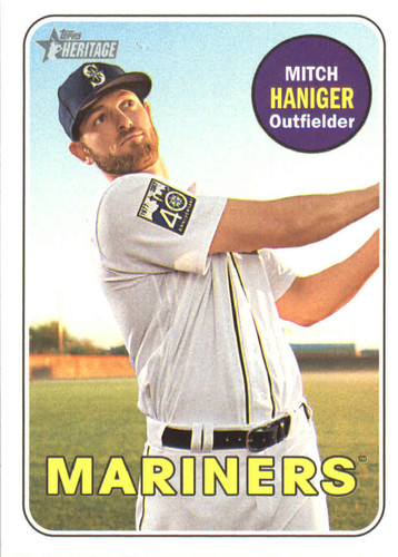 Photo of 2018 Topps Heritage #21 Mitch Haniger