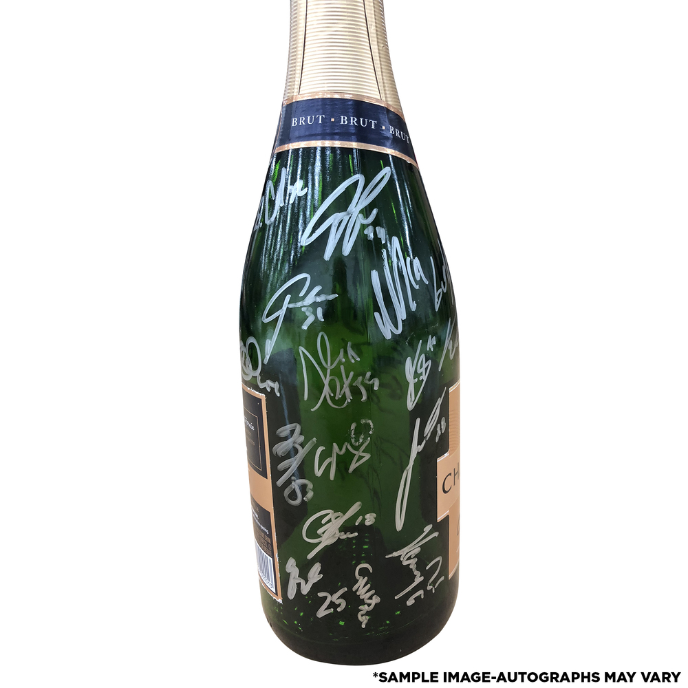 Washington Capitals 2018 Stanley Cup Champions Celebration Locker - Used  Champagne Bottle With 24 Signatures 6a0258949ae