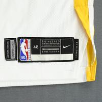 Jacob Evans III - Golden State Warriors - 2019 NBA Finals - Game 3 - Game-Worn White Association Edition Jersey