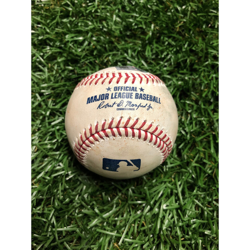 Photo of Game Used Baseball: Shohei Ohtani Fielders Choice RBI off Oliver Drake - June 14, 2019 v LAA