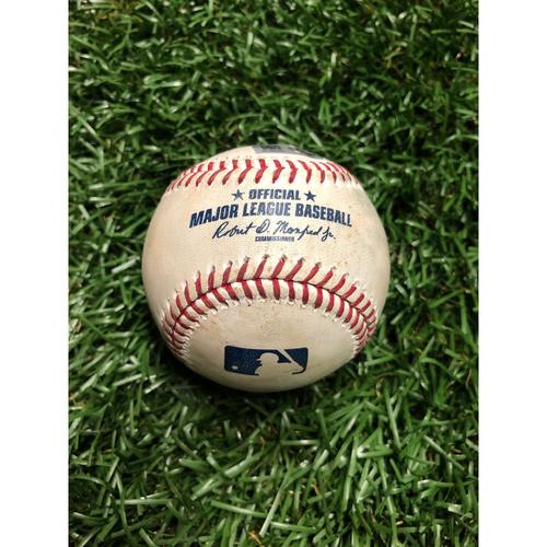 Game Used Baseball: Shohei Ohtani Fielders Choice RBI off Oliver Drake - June 14, 2019 v LAA