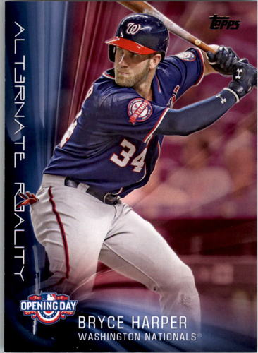 Photo of 2016 Topps Opening Day Alternate Reality #AR5 Bryce Harper
