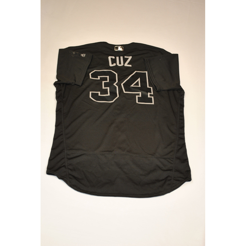 "Photo of Tim ""CUZ"" Cossins Baltimore Orioles Game-Used 2019 Players' Weekend Jersey"