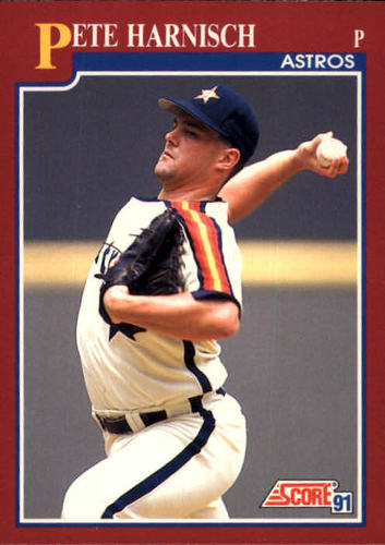 Photo of 1991 Score Rookie/Traded #36T Pete Harnisch