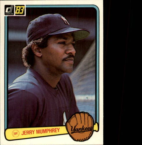 Photo of 1983 Donruss #360 Jerry Mumphrey