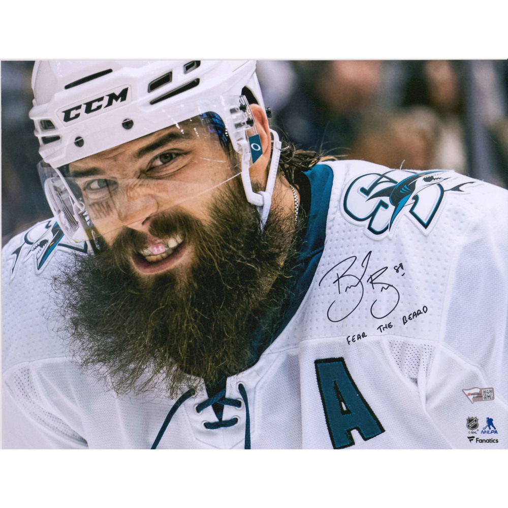 Brent Burns San Jose Sharks Autographed 11