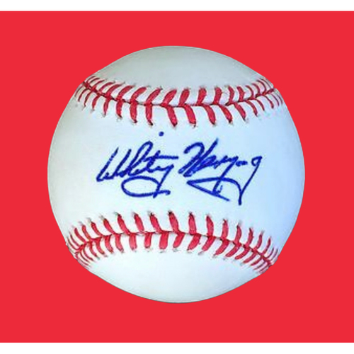 Photo of Whitey Herzog Autographed Baseball