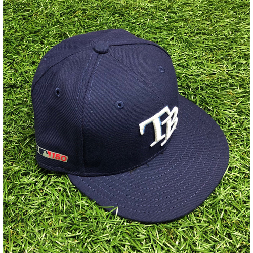 Photo of Opening Day Game Used Cap: Daniel Robertson #28 - March 28, 2019 v HOU