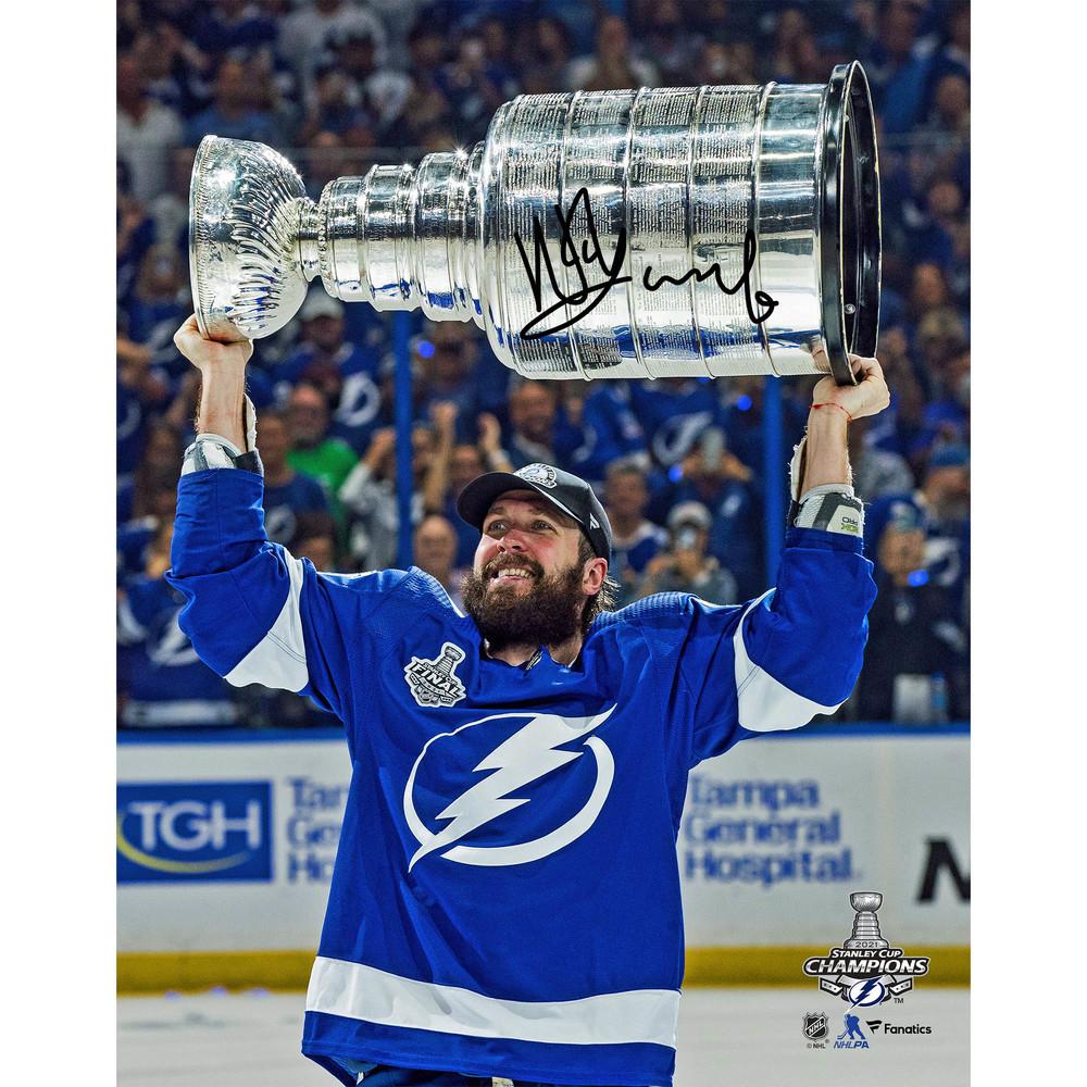 Nikita Kucherov Tampa Bay Lightning 2021 Stanley Cup Champions Autographed 11