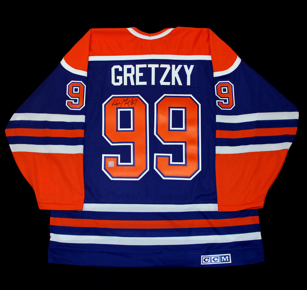 ... coupon for wayne gretzky 99 autographed edmonton oilers vintage royal  blue ccm replica hockey jersey 77440 2f366f932