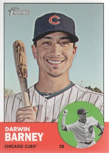 Photo of 2012 Topps Heritage #15A Darwin Barney