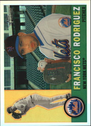 Photo of 2009 Topps Heritage Chrome Refractors #C60 Francisco Rodriguez