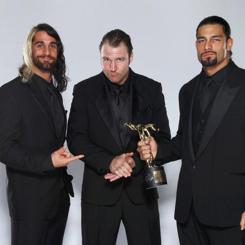 The Shield SIGNED WWE Replica Slammy Award