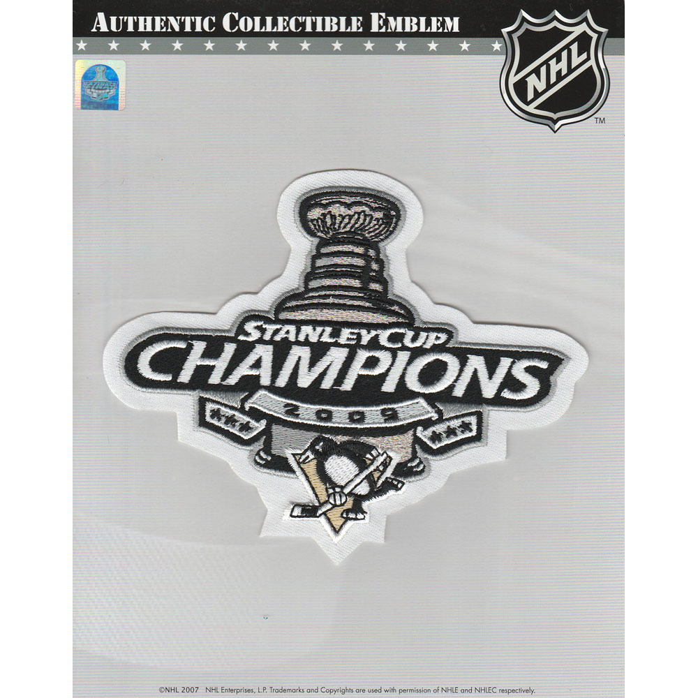 brand new 72c89 3a3d7 Pittsburgh Penguins 2009 Stanley Cup Champions Jersey Patch ...