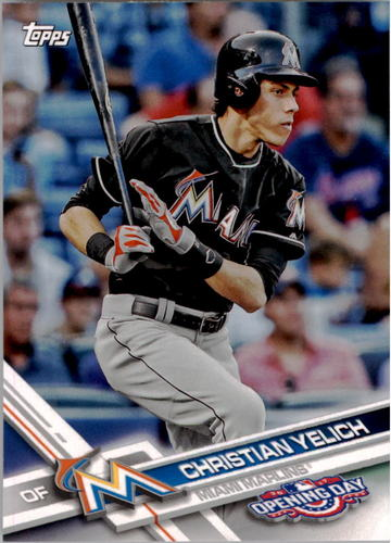Photo of 2017 Topps Opening Day #99 Christian Yelich