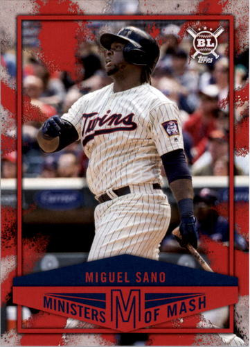 Photo of 2018 Topps Big League Ministers of Mash #MI4 Miguel Sano