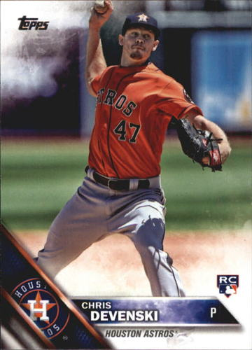 Photo of 2016 Topps Update #US270 Chris Devenski RC