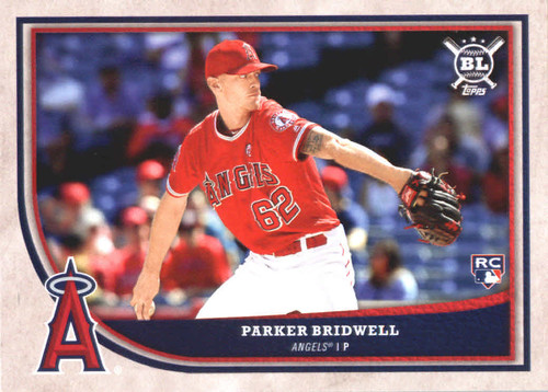 Photo of 2018 Topps Big League #247 Parker Bridwell RC