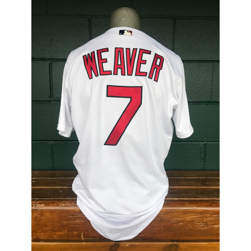 Photo of Cardinals Authentics: Game Worn Luke Weaver Home White Jersey *10,000th Win*