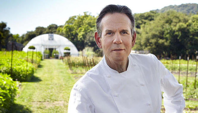 DINNER & KITCHEN TOUR AT CHEF THOMAS KELLER'S THE FRENCH LAUNDRY