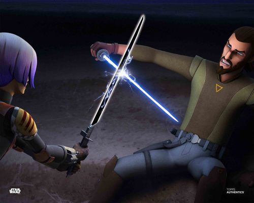 Kanan Jarrus and Sabine Wren