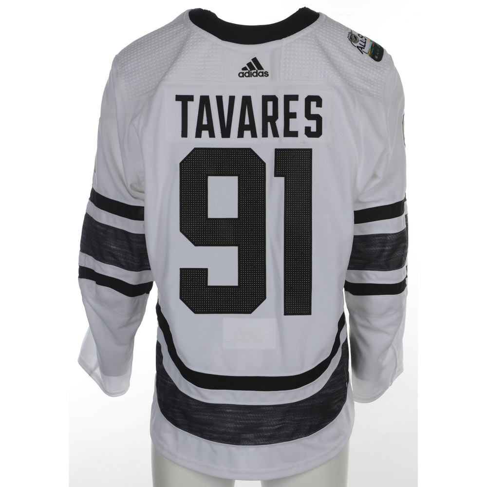 the best attitude c0733 d6dc4 John Tavares Toronto Maple Leafs Player-Issued 2019 All-Star ...