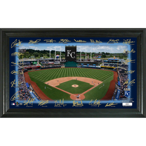 Photo of Kansas City Royals Signature Field Photo Frame