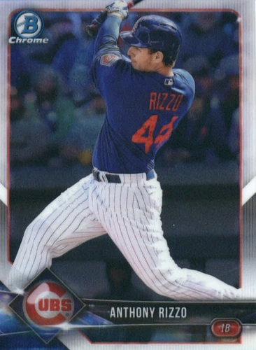 Photo of 2018 Bowman Chrome #6 Anthony Rizzo