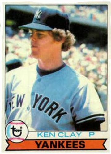 Photo of 1979 Topps #434 Ken Clay