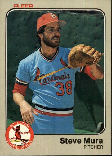 Photo of 1983 Fleer #16 Steve Mura
