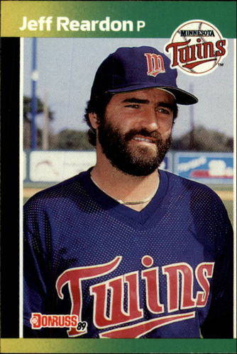 Photo of 1989 Donruss #155 Jeff Reardon