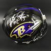HOF - Ravens Jonathan Ogden Signed Proline Helmet