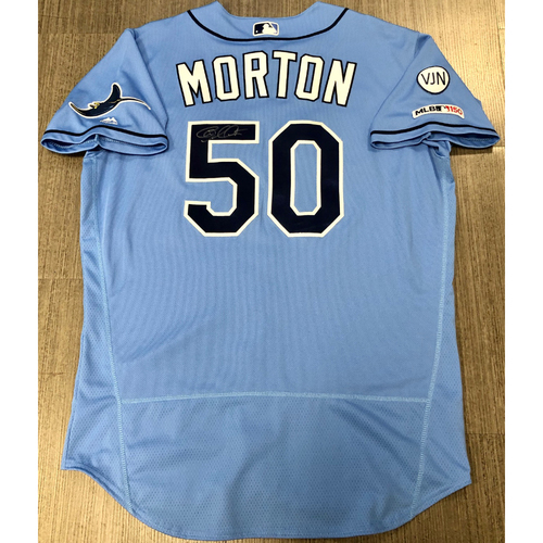 Photo of Team Issued Autographed Jersey: Charlie Morton
