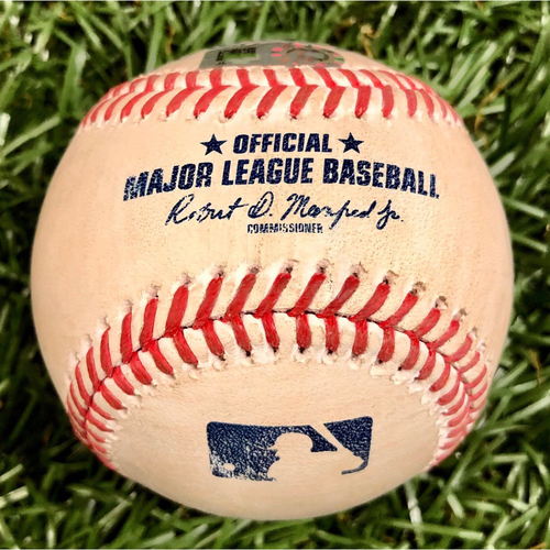 Photo of Game Used Baseball: Carter Kieboom single off Ryan Yarbrough - September 15, 2020 v WSH
